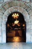 дверь правоверная к Стоковая Фотография