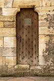 дверь предпосылки старая Стоковое Изображение