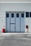 дверь промышленная Стоковые Изображения