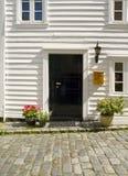 дверь расквартировывает stavanger типичный Стоковое Изображение RF