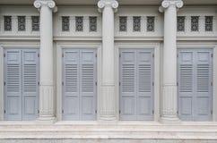 Дверь ренессанса Стоковая Фотография
