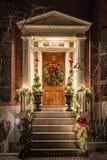 Дверь рождества Стоковое Изображение RF