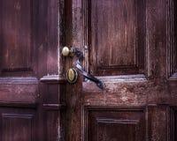 Дверь ручки Стоковые Изображения