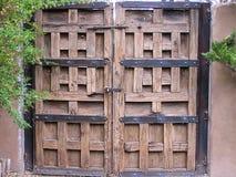 Дверь Санта-Фе Стоковое Изображение RF