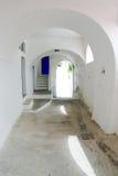 дверь сини переулка Стоковые Изображения