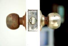 дверь смотрит на одно 2 Стоковые Изображения RF