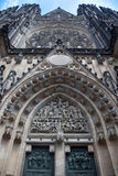 дверь собора готская Стоковые Изображения RF