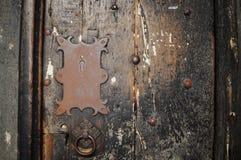 Дверь собора Честера старая стоковые изображения rf