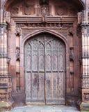 Дверь собора Честера Стоковая Фотография RF