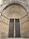дверь собора Стоковое фото RF