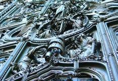 дверь собора Стоковые Фотографии RF