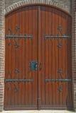 дверь средневековая стоковое фото rf