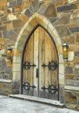 дверь средневековая Стоковые Фотографии RF