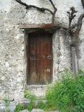 дверь старая Стоковое Фото