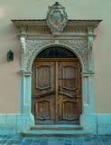 Дверь, старые въездные ворота, ворот, портальное Стоковые Фото