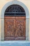 Дверь, старые въездные ворота, ворот, портальное Стоковое Изображение