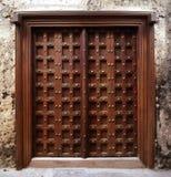 Дверь стиля Занзибара Стоковые Изображения RF
