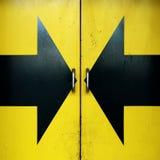 дверь стрелок Стоковое Изображение RF