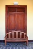 дверь стула Стоковые Изображения