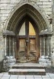 Дверь типа сбора винограда Стоковое Изображение RF