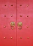 Дверь традиционного китайския стоковая фотография rf