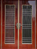 Дверь традиционного китайския Стоковые Фото