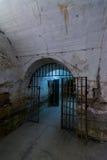 Дверь, тюрьма Jilava форта 13 Стоковое Фото