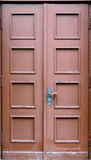Дверь дуба Стоковая Фотография