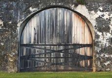 Дверь форта Стоковая Фотография RF