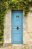 дверь Франция деревянная Стоковое Изображение