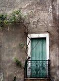 дверь Франция южная Стоковое Изображение