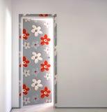 дверь цветистая Стоковое Фото