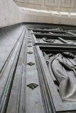 Дверь церков Мадрида Escorial Стоковое Изображение RF