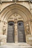 Дверь церков шиншиллы стоковая фотография rf