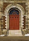 Дверь церков Стоковое Изображение RF