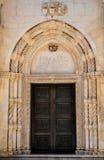Дверь церков Стоковые Изображения
