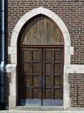Дверь церков Стоковые Фотографии RF