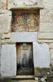 Дверь церков Densus Стоковое Изображение RF