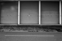 Дверь цинка Стоковые Изображения RF