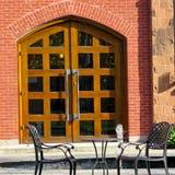 Дверь 2016 школы Munk университета Торонто Стоковые Изображения