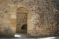 дверь 4 готская Стоковая Фотография