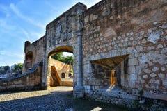 Дверь Alcazar de Двоеточия - Санто Доминго, Доминиканской Республики Стоковые Изображения