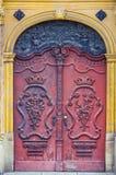Дверь barocco рынка Wroclaw старая Стоковое Фото