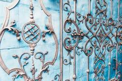 Дверь barocco рынка Wroclaw старая Стоковое Изображение