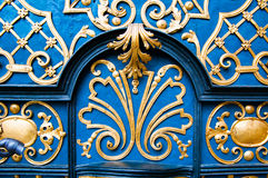 Дверь barocco рынка Wroclaw старая Стоковое фото RF