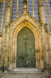 дверь frauen kloster lieben unser magdeburg Стоковая Фотография