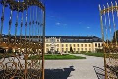 Дверь Goden замка Стоковое Изображение RF