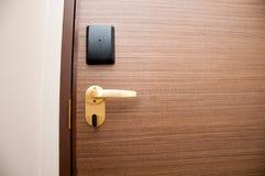 Дверь Keycard Стоковые Изображения