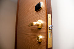 Дверь Keycard Стоковое фото RF