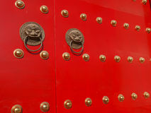 Дверь Knocker Стоковая Фотография